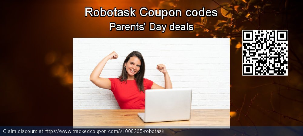 Robotask Coupon discount, offer to 2019 US Independence Day