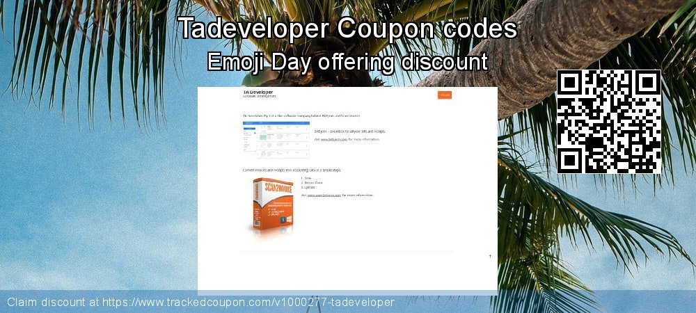 Tadeveloper Coupon discount, offer to 2019 Summer