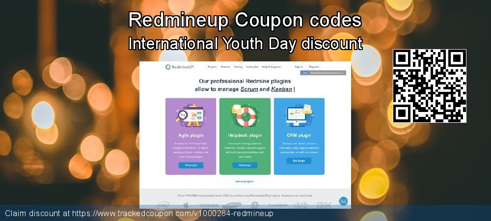 Redmineup Coupon discount, offer to 2020