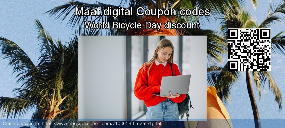 Maat.digital Coupon discount, offer to 2019 Back to School coupons