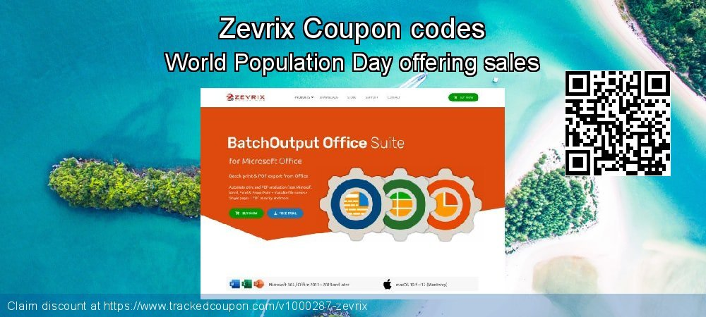 Zevrix Coupon discount, offer to 2021