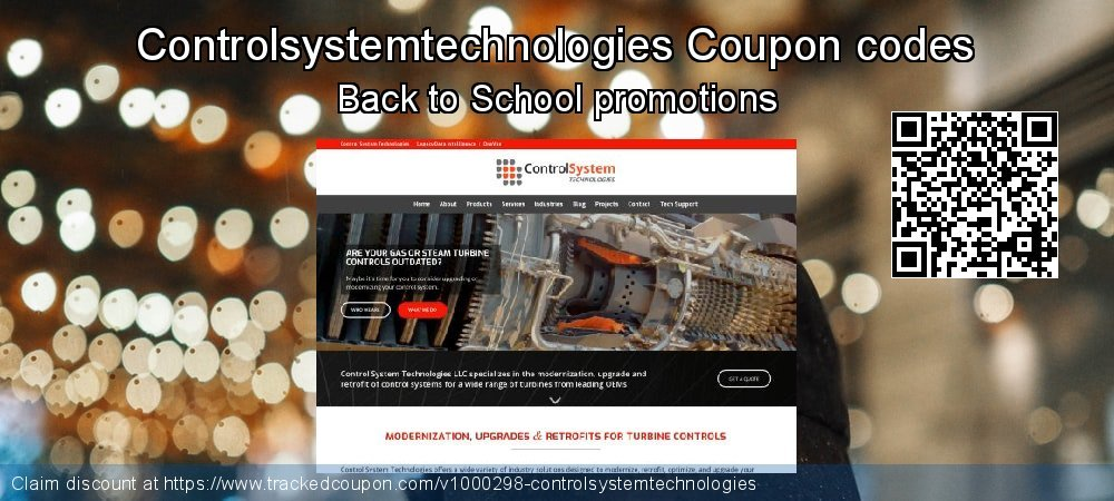 Controlsystemtechnologies Coupon discount, offer to 2021