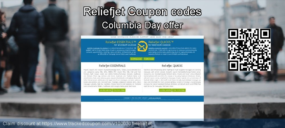 Reliefjet Coupon discount, offer to 2019 Black Friday