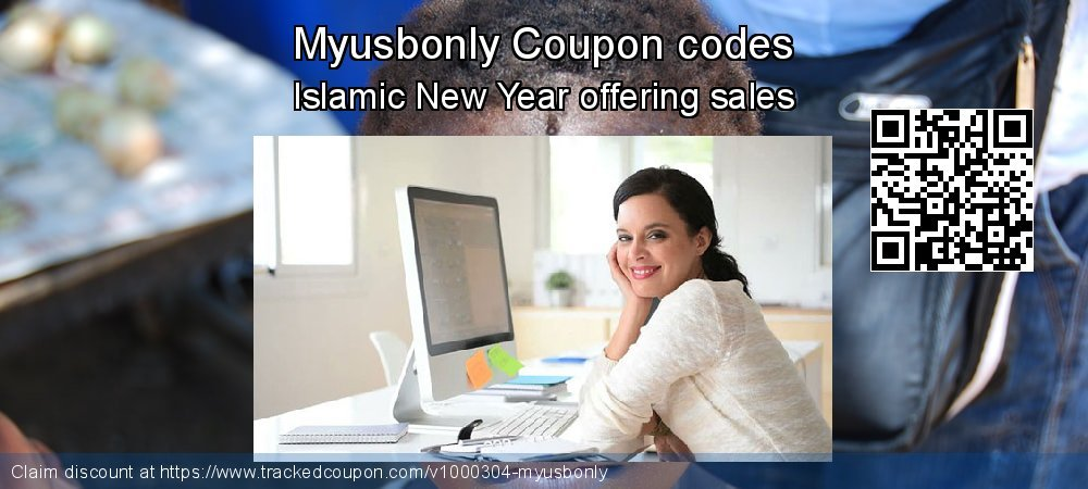 Myusbonly Coupon discount, offer to 2020