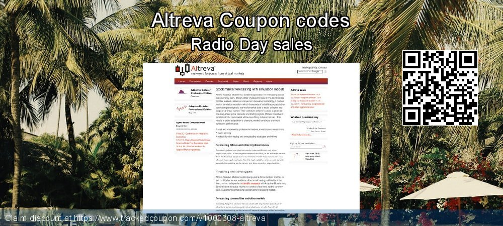 Altreva Coupon discount, offer to 2020 Happy New Year