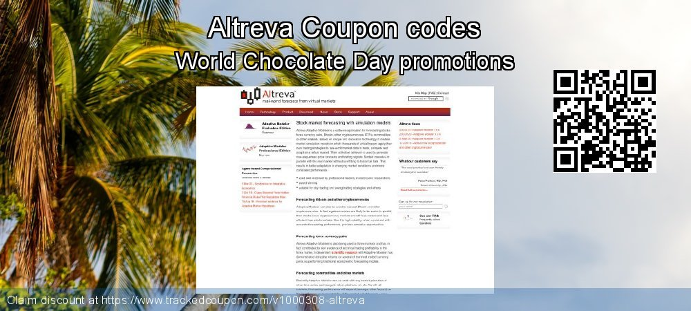 Altreva Coupon discount, offer to 2020