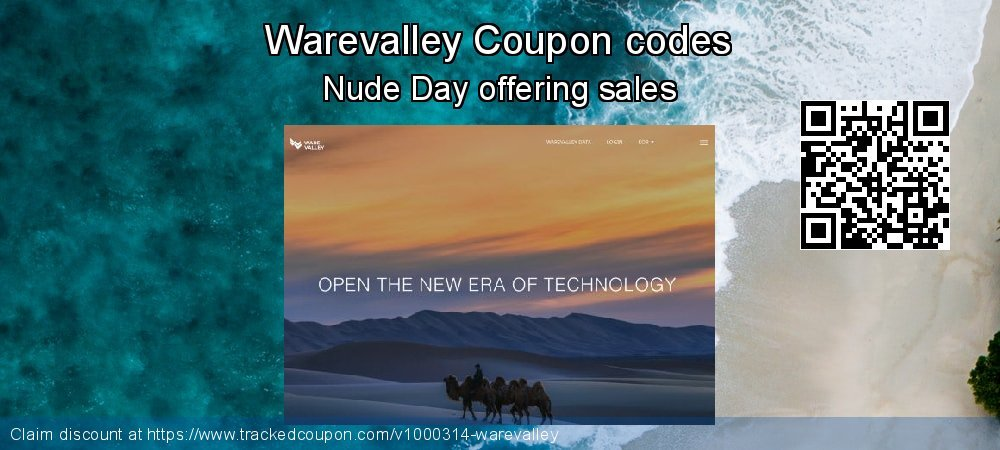 Warevalley Coupon discount, offer to 2019 Thanksgiving