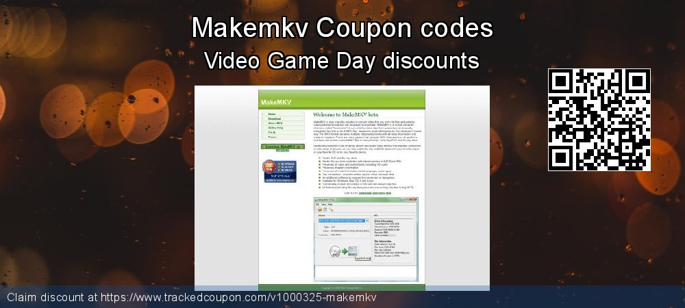 Makemkv Coupon discount, offer to 2019 4th of July