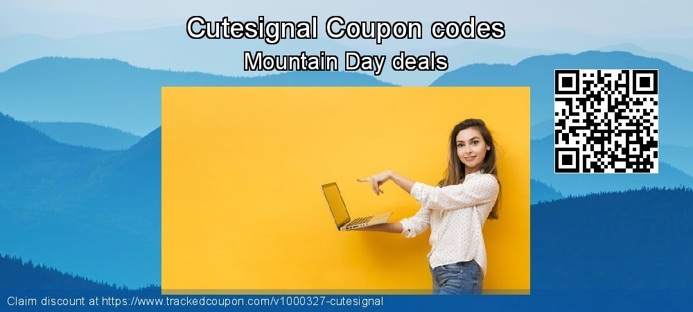 Cutesignal Coupon discount, offer to 2020