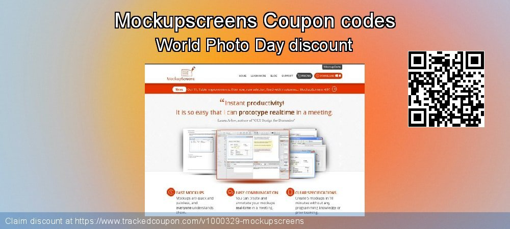 Mockupscreens Coupon discount, offer to 2020