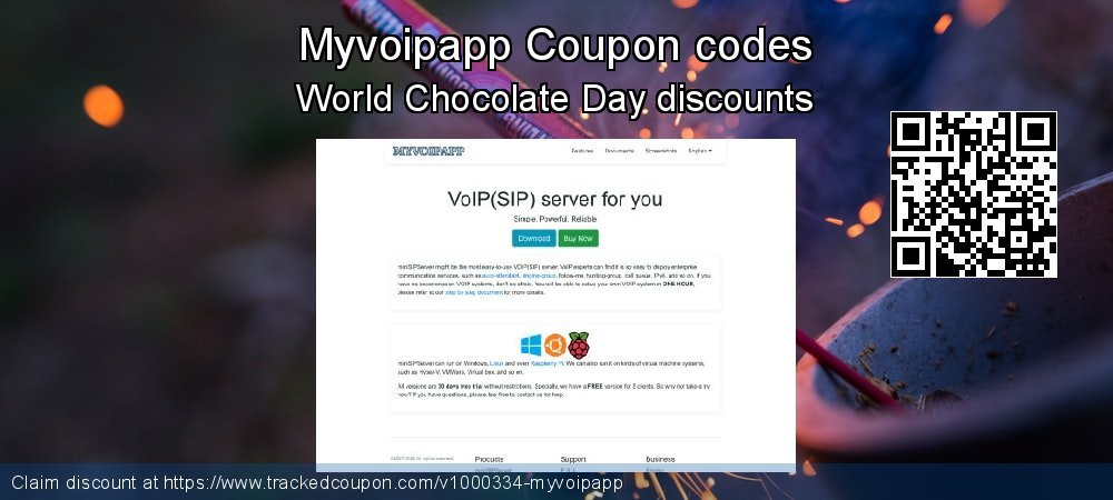 Myvoipapp Coupon discount, offer to 2019 Black Friday