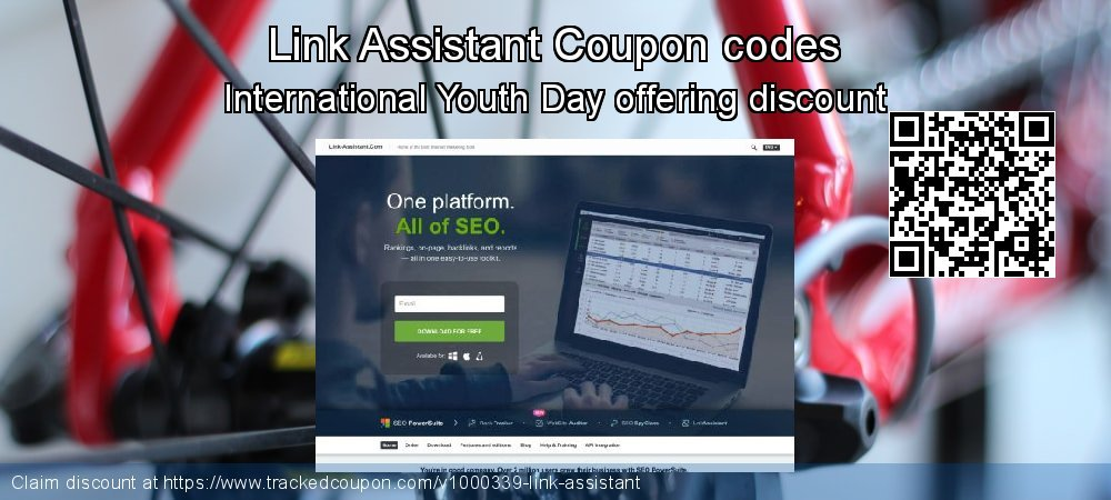 Link Assistant Coupon discount, offer to 2021