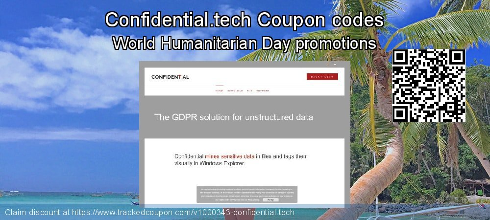 Confidential.tech Coupon discount, offer to 2020 April Fool's Day