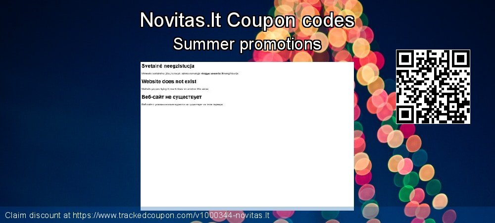 Novitas.lt Coupon discount, offer to 2019 Exclusive Student discount