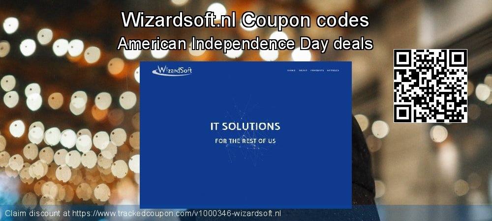 Wizardsoft.nl Coupon discount, offer to 2019 Halloween