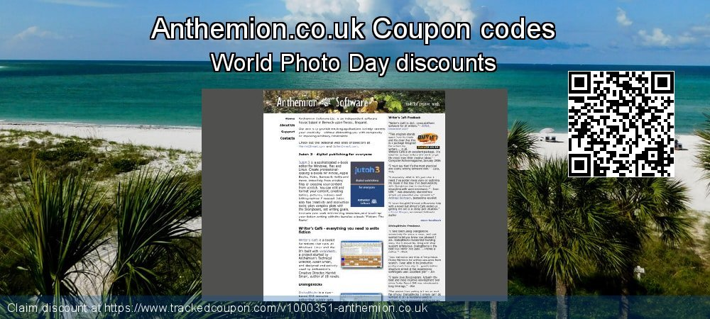 Anthemion.co.uk Coupon discount, offer to 2019 Halloween