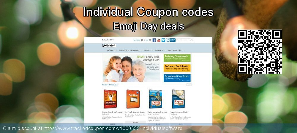 Individual Coupon discount, offer to 2020