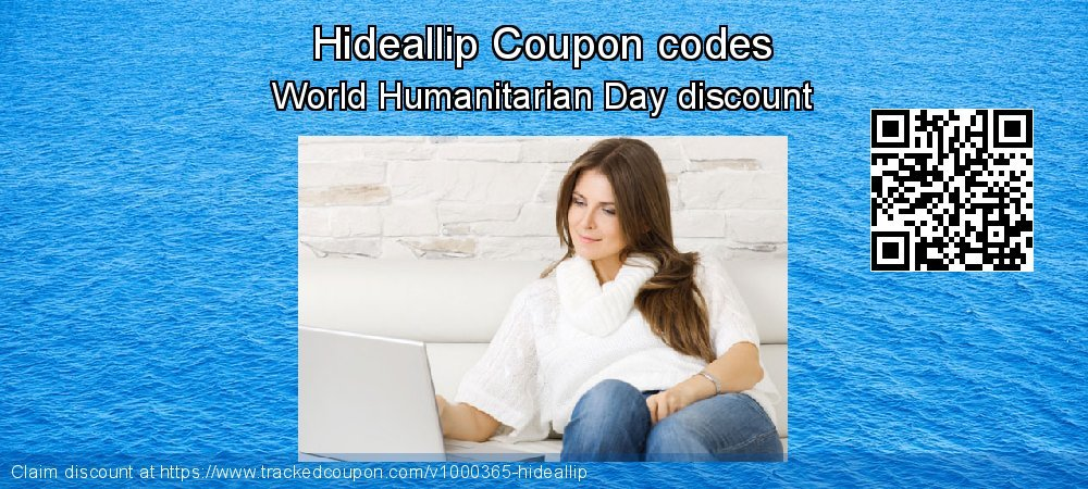Hideallip Coupon discount, offer to 2020 Happy New Year