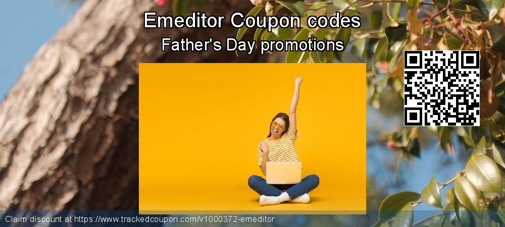 Emeditor Coupon discount, offer to 2020 Happy New Year