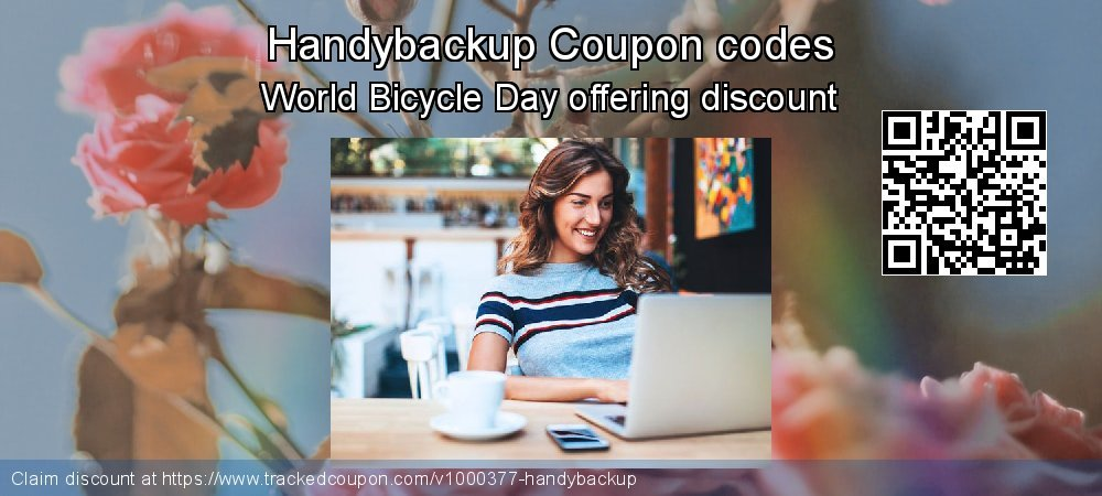 Handybackup Coupon discount, offer to 2020 New Year's Day