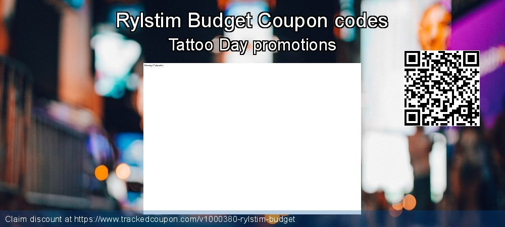 Rylstim Budget Coupon discount, offer to 2021