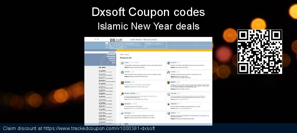 Dxsoft Coupon discount, offer to 2020 Lunar New Year