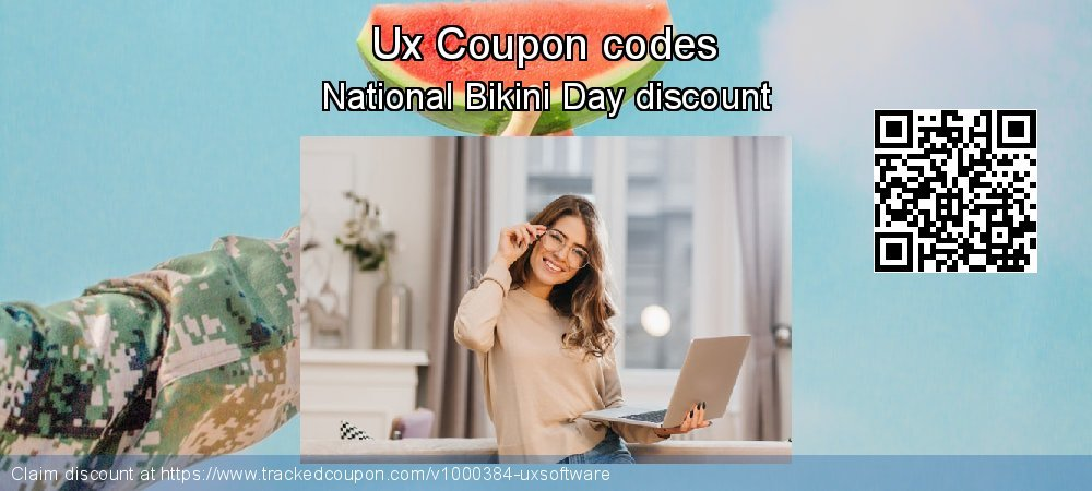 Ux Coupon discount, offer to 2020 New Year's Day