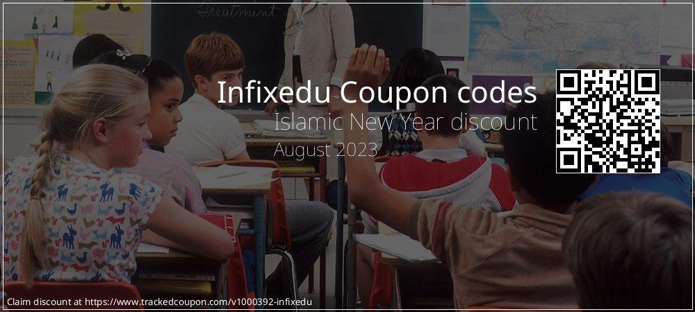 Infixedu Coupon discount, offer to 2021