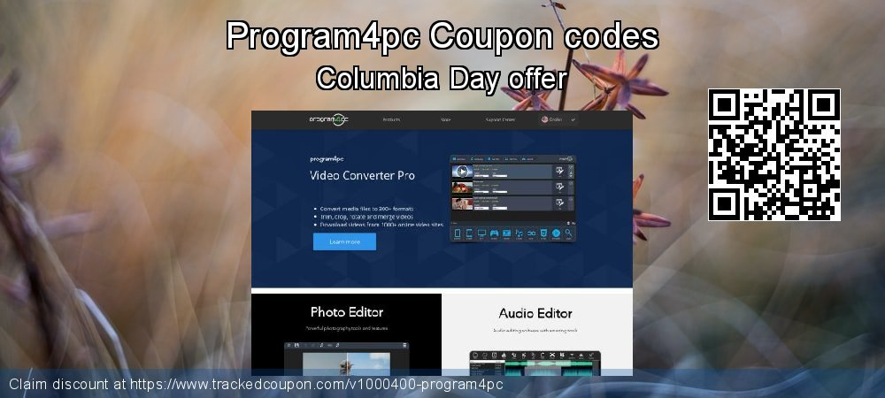 Program4pc Coupon discount, offer to 2019 Summer