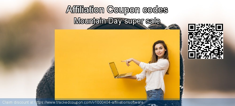 Affiliation Coupon discount, offer to 2019 Thanksgiving