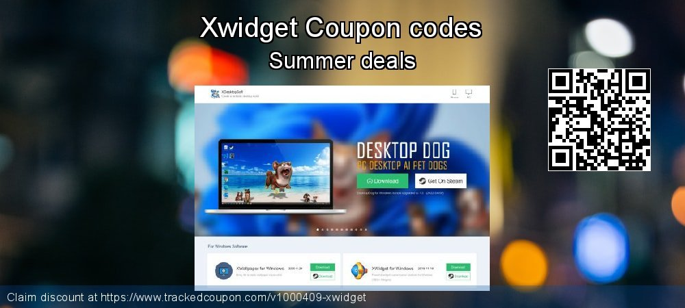 Xwidget Coupon discount, offer to 2019 New Year's Day