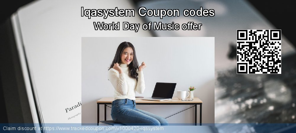 Iqasystem Coupon discount, offer to 2019 Back to School shopping