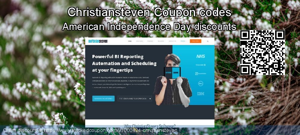 Christiansteven Coupon discount, offer to 2020