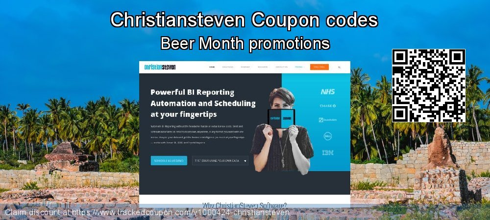 Christiansteven Coupon discount, offer to 2020 New Year