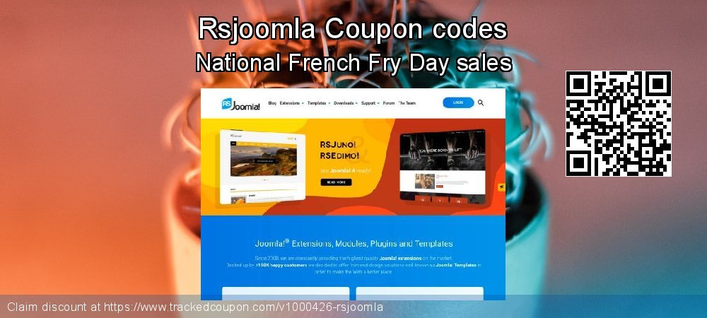 Rsjoomla Coupon discount, offer to 2020