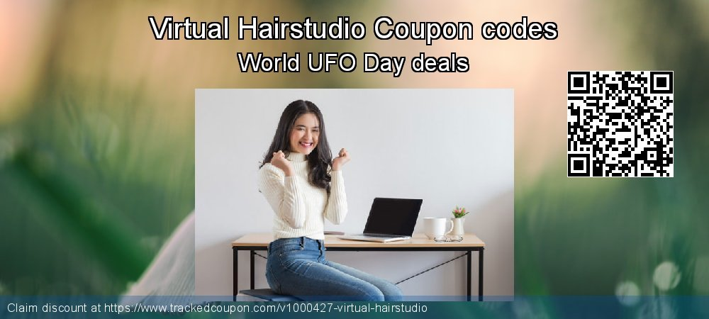 Virtual Hairstudio Coupon discount, offer to 2020 New Year