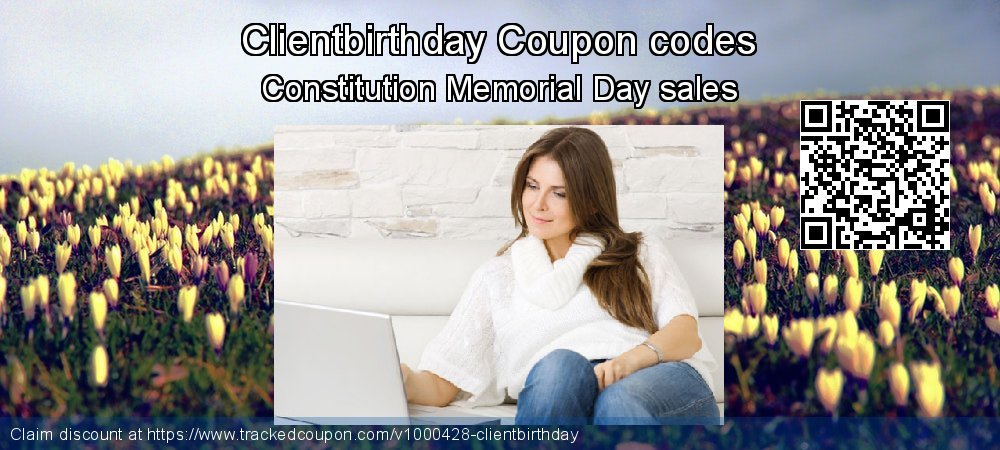Clientbirthday Coupon discount, offer to 2019 Christmas & New Year