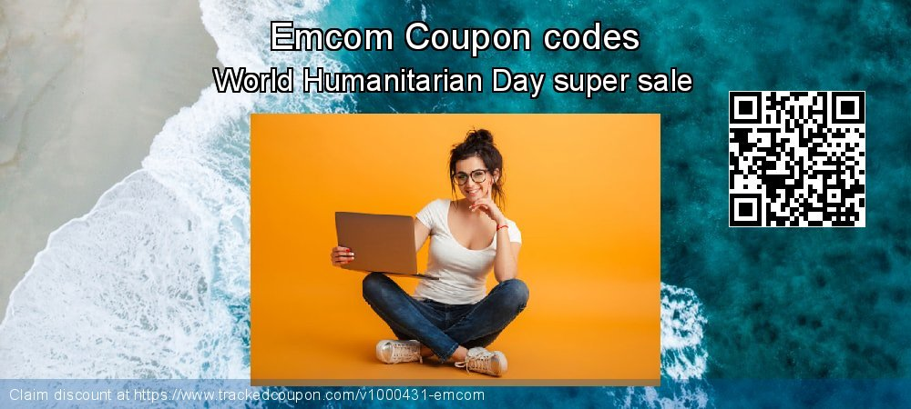 Emcom Coupon discount, offer to 2020 Valentine Week