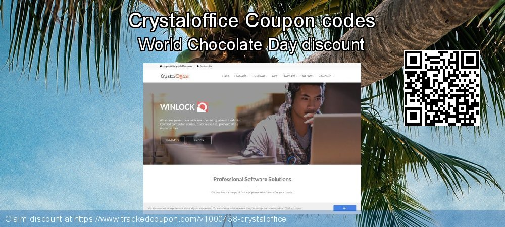 Crystaloffice Coupon discount, offer to 2019 Black Friday