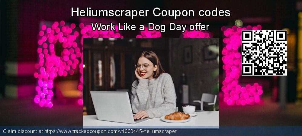 Heliumscraper Coupon discount, offer to 2019 Back to School deals