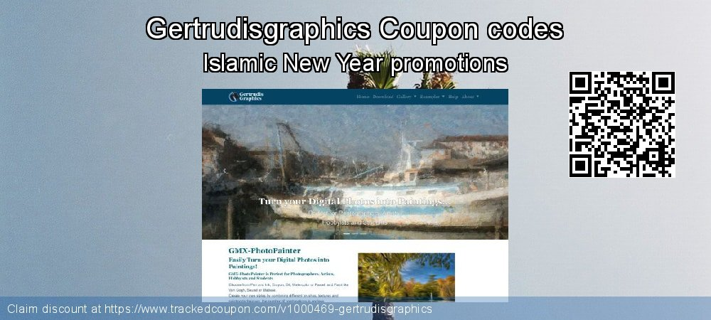 Gertrudisgraphics Coupon discount, offer to 2020