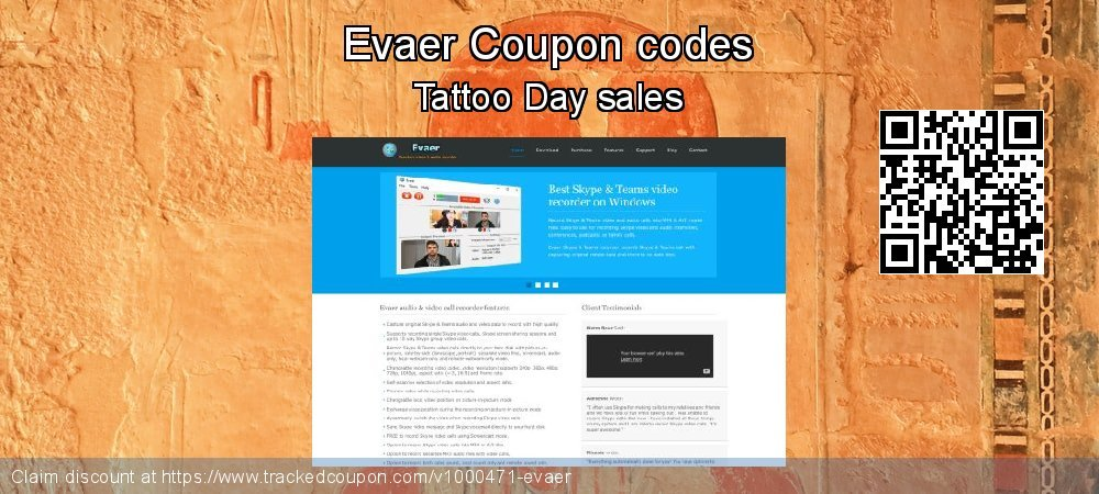 Evaer Coupon discount, offer to 2020