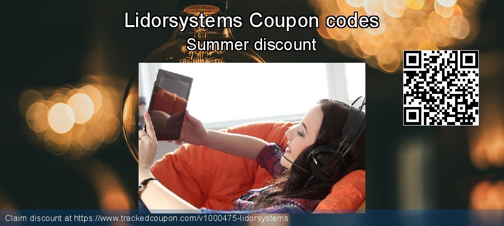 Lidorsystems Coupon discount, offer to 2019 Thanksgiving