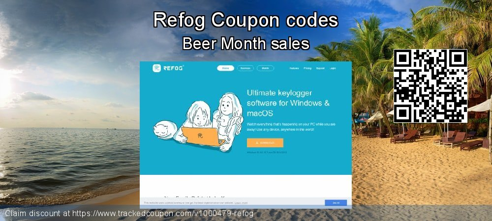 Refog Coupon discount, offer to 2021