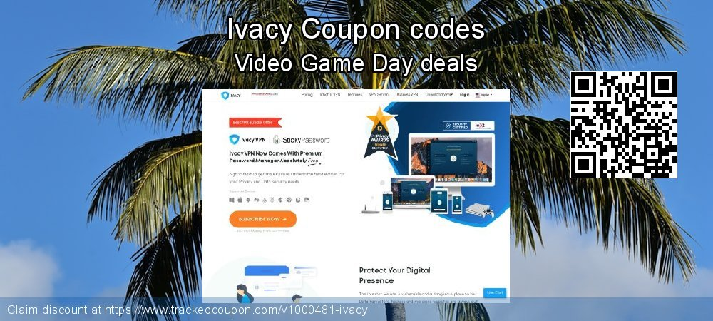 Ivacy Coupon discount, offer to 2020