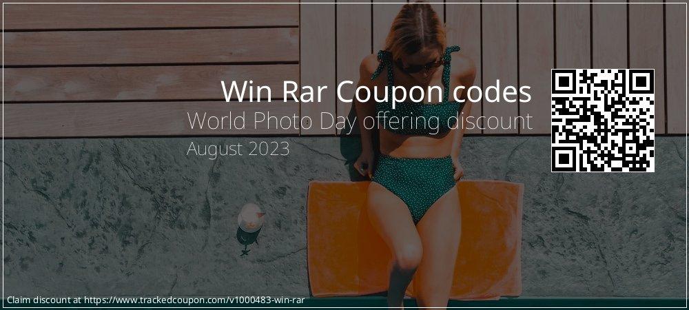 Win Rar Coupon discount, offer to 2020