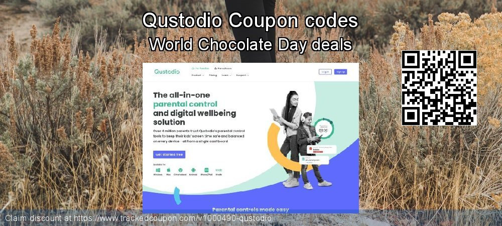 Qustodio Coupon discount, offer to 2020