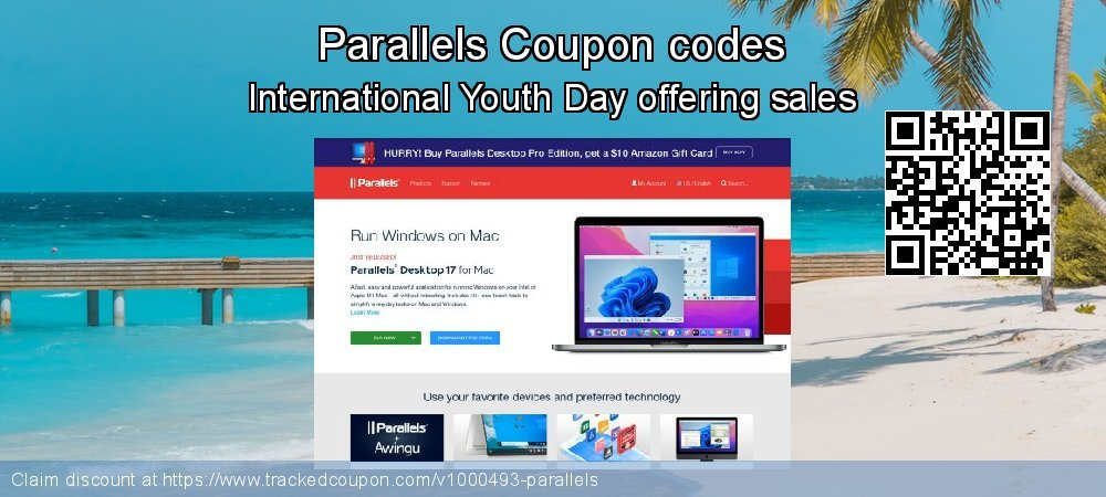 Parallels Coupon discount, offer to 2021