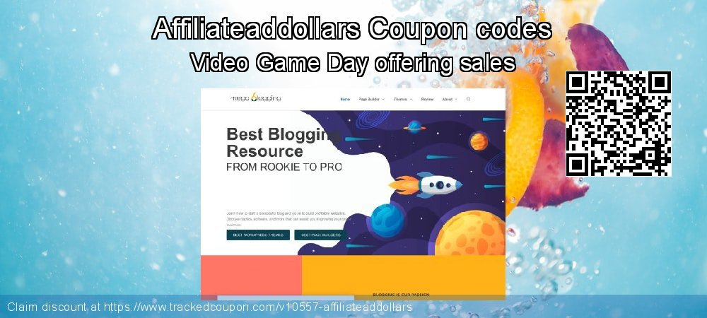 Affiliateaddollars Coupon discount, offer to 2020 Spring