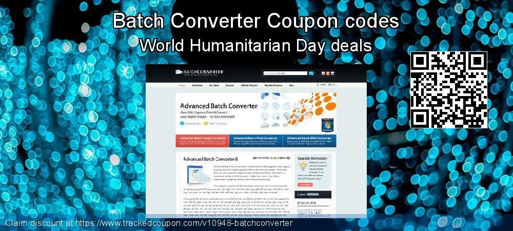 Batch Converter Coupon discount, offer to 2018 Christmas & New Year